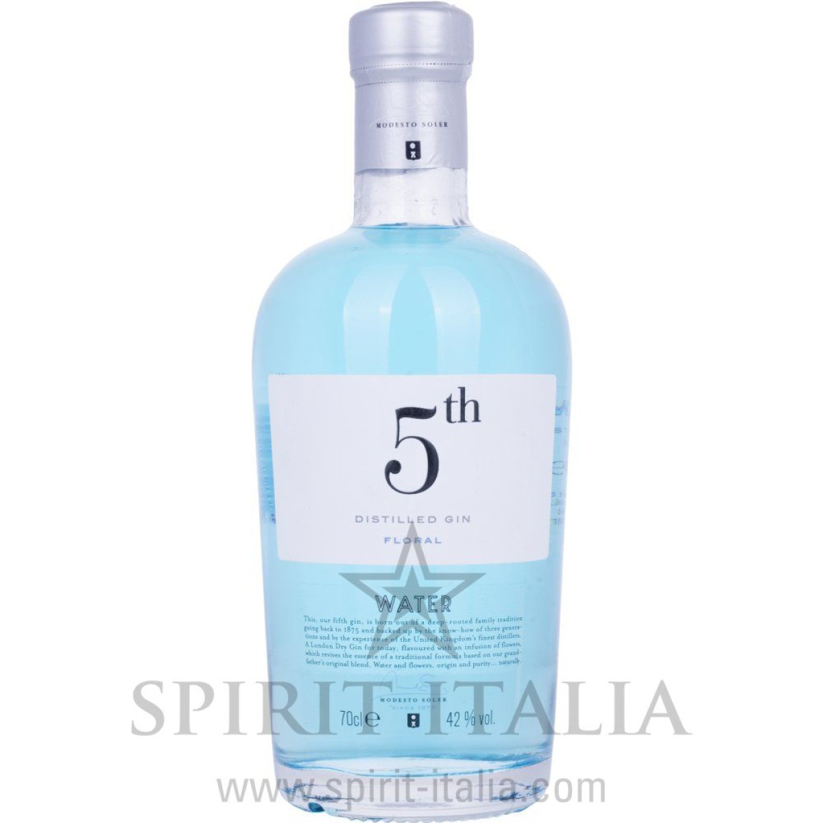5th WATER Gin Floral