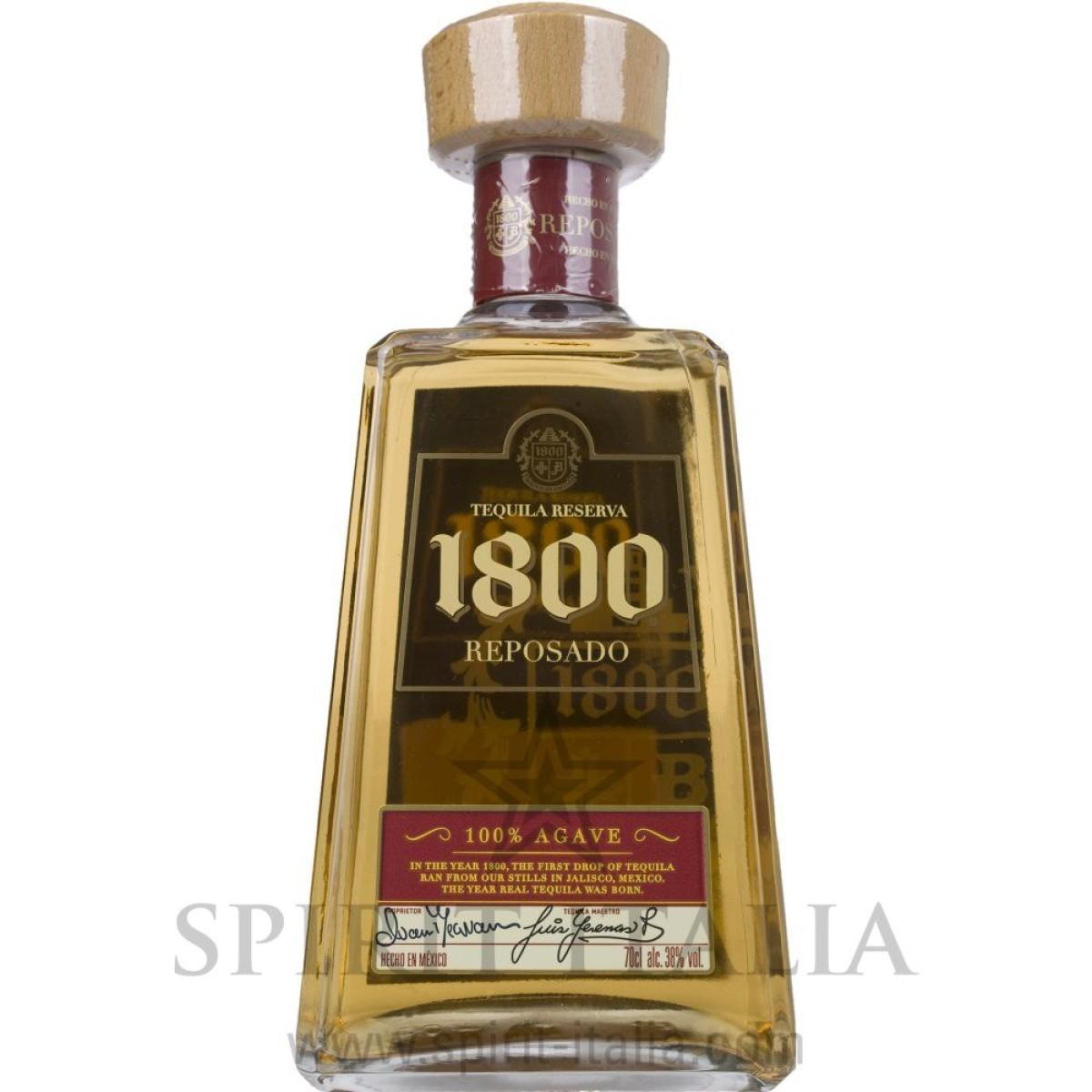 1800 Tequila José Cuervo Reposado 100% Agave