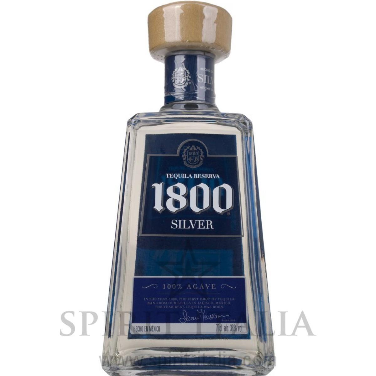 1800 Tequila José Cuervo Silver 100% Agave