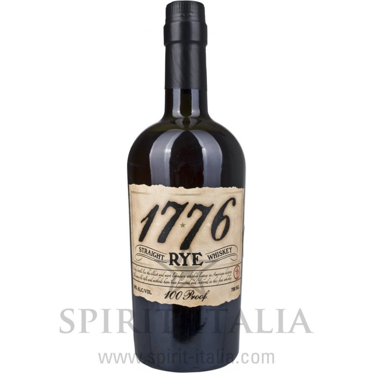 1776 James E. Pepper Straight Rye Whiskey Old Style