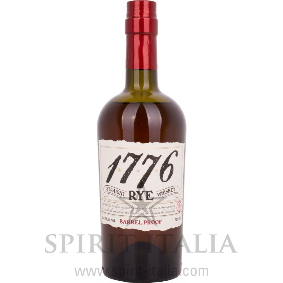1776 Straight RYE Whiskey Barrel Proof Old Style