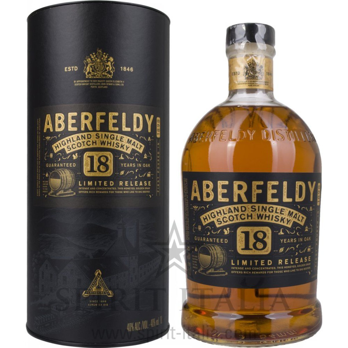 Aberfeldy 18 Years Old Limited Release + GB