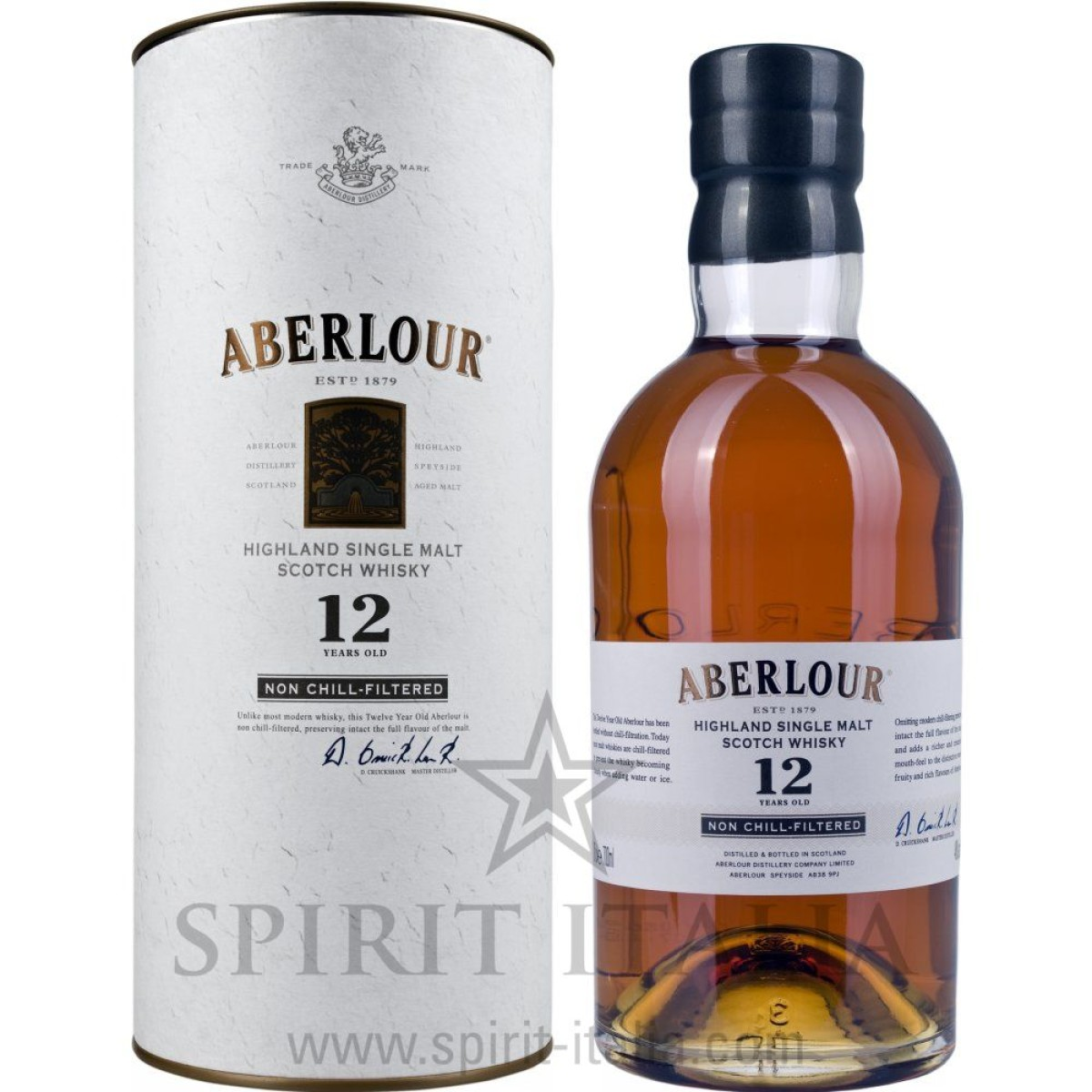 Aberlour 12 Years Old Non Chill-Filtered + GB