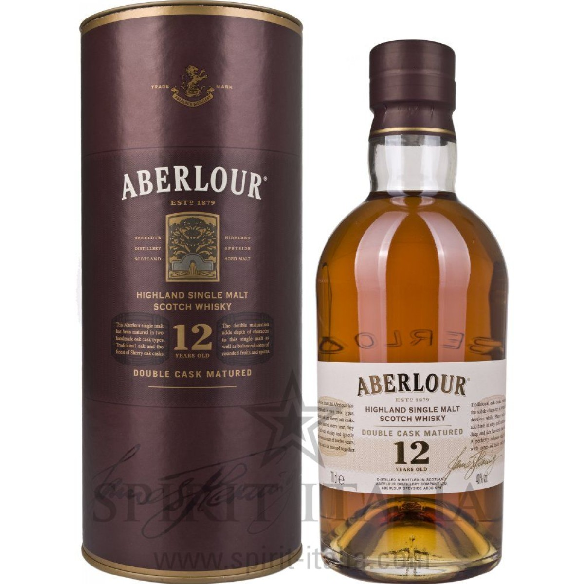 Aberlour 12 Years Old Double Cask Matured + GB