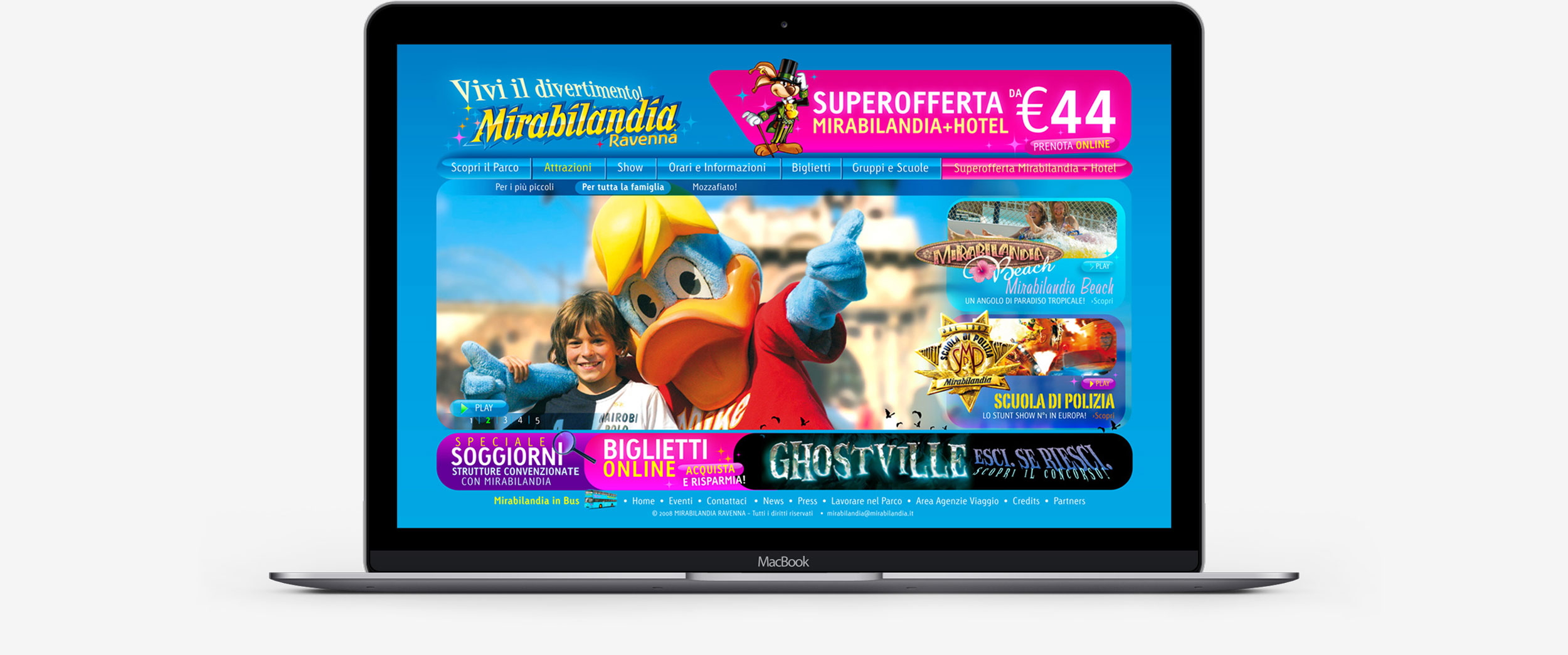 Mirabilandia Macbook