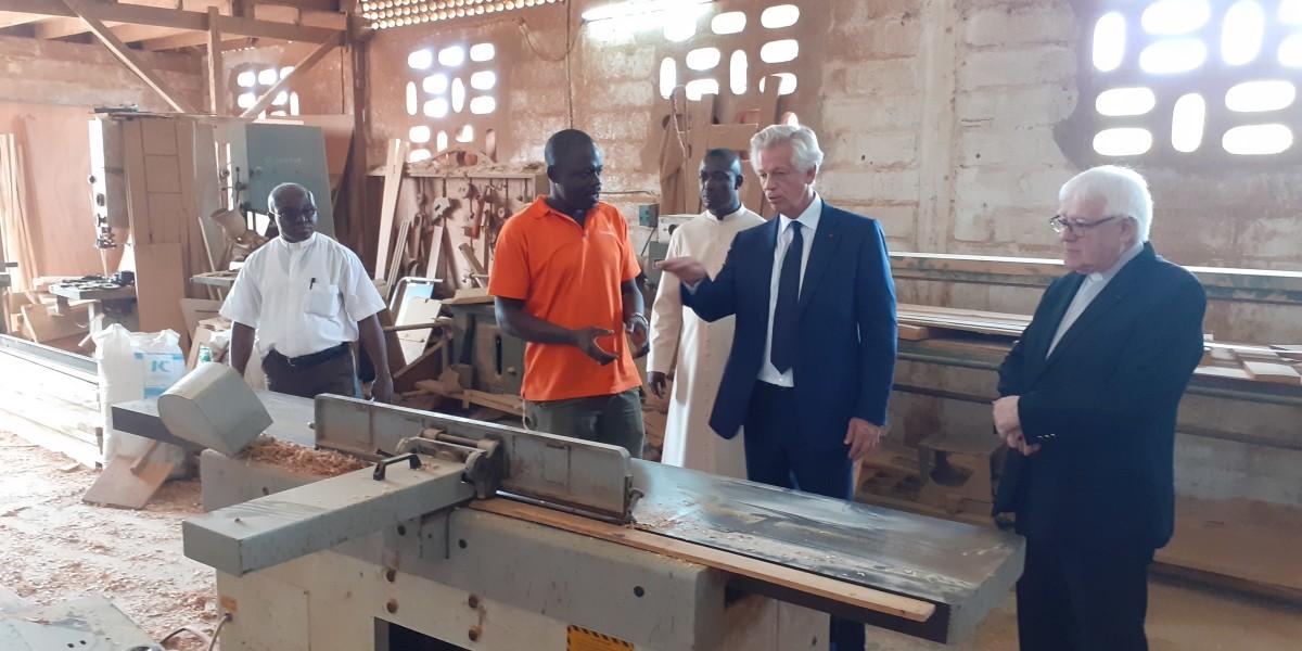Professional training in Ivory Coast
